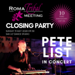 Closing Party: Pete List in concert